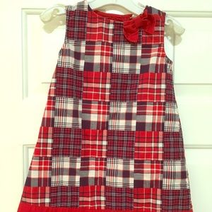 Adorable plaid Gymboree dress with bow
